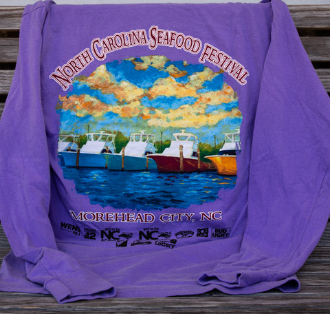 Adult Long Sleeve Shirt - Periwinkle