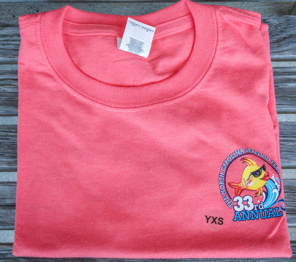 Youth T-Shirt - Coral Silk