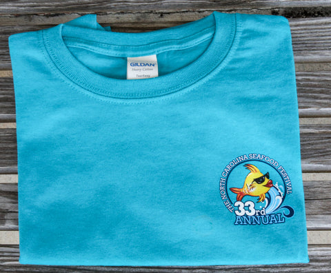 Youth T-Shirt - Tropical Blue