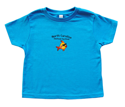 Toddler Short Sleeve- Cobalt Blue