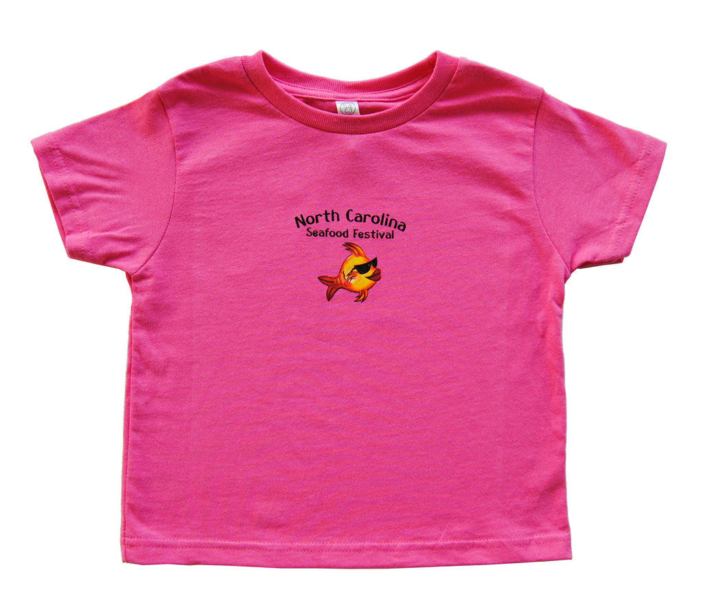 Toddler Short Sleeve- Pink