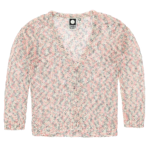 Tumble N' Dry - Girls - Strawberry Knit Putauaki Sweater