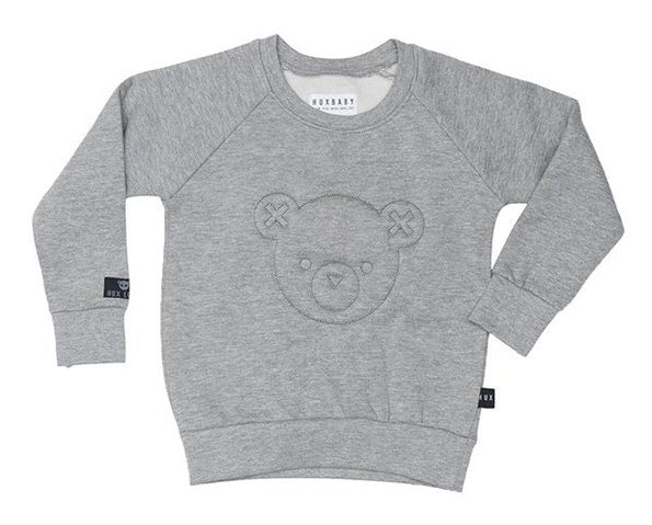 Huxbaby - Unisex - Stitch Bear Fleece Sweatshirt