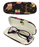 Black (Eyeglass Case + Contact Case)