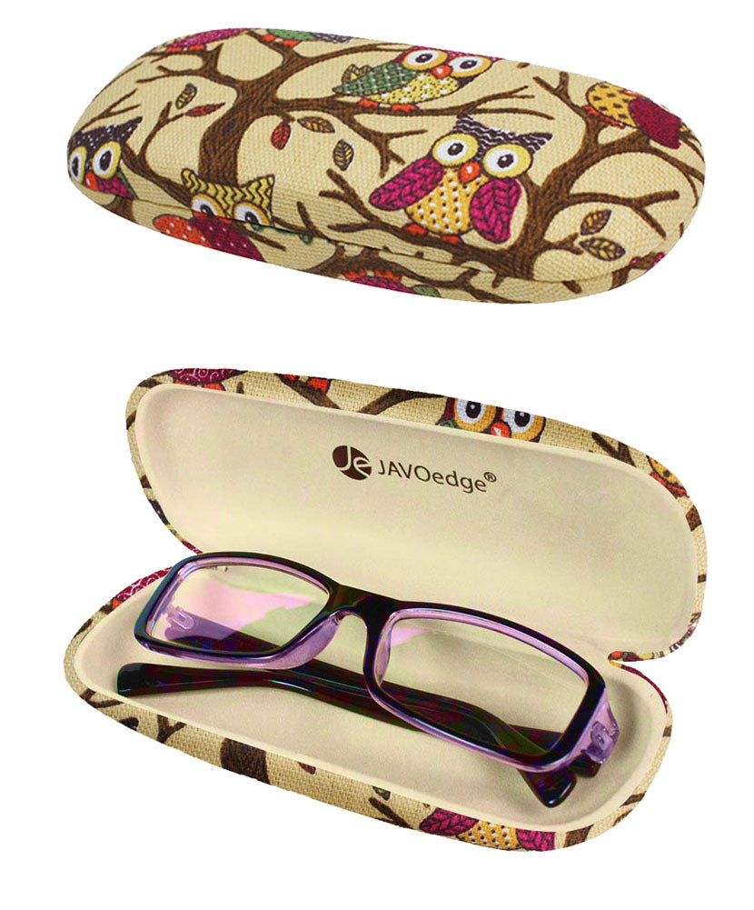 Beige (Eyeglass Case + Contact Case)