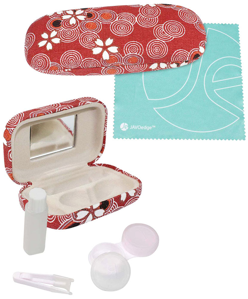 Red Case + Contact Case
