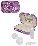 Purple (Eyeglass Case + Contact Case)