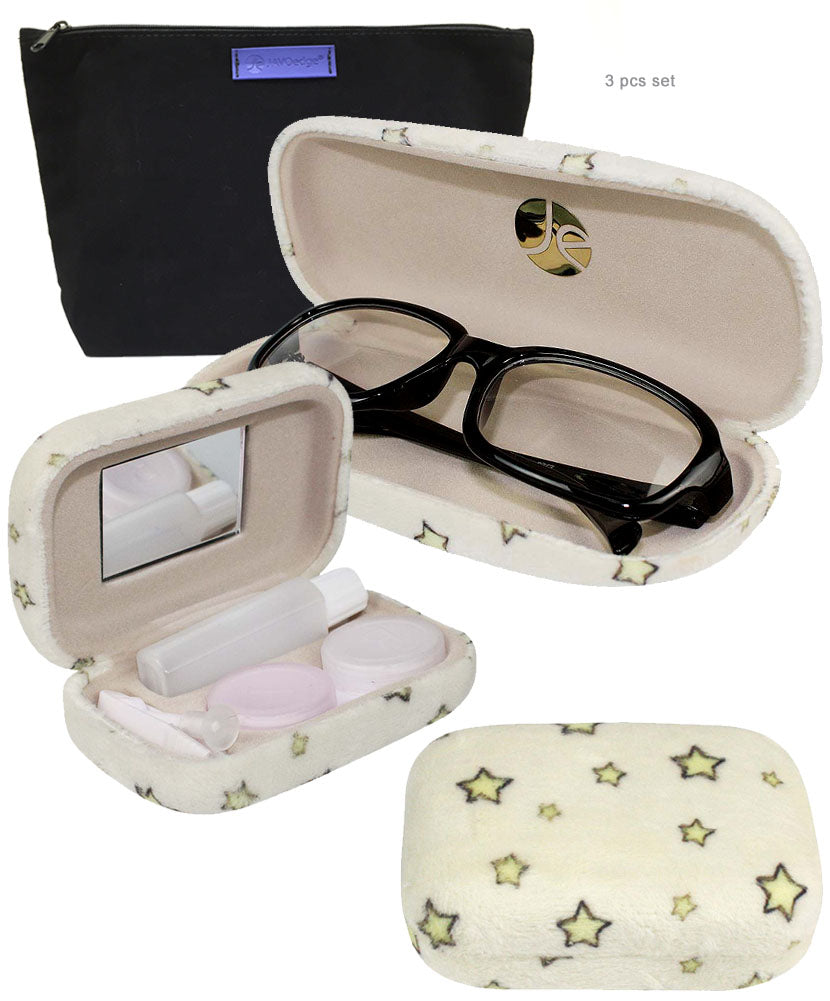 Stars Glasses + Contact Case