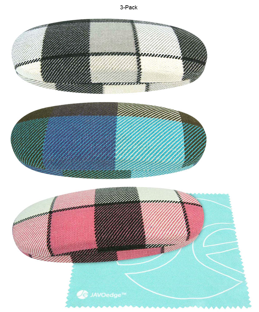 Gray, Blue, Pink - 3 PACK