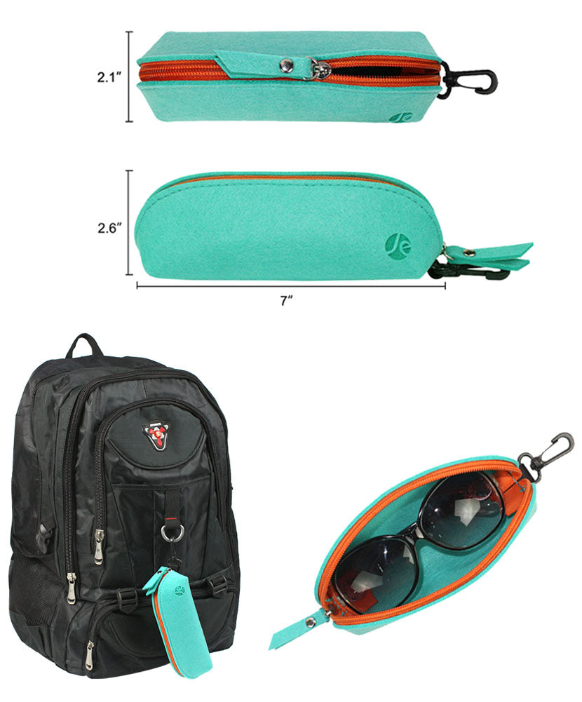 Multi-Color (5 COLORS) Zipper with Clip Holder