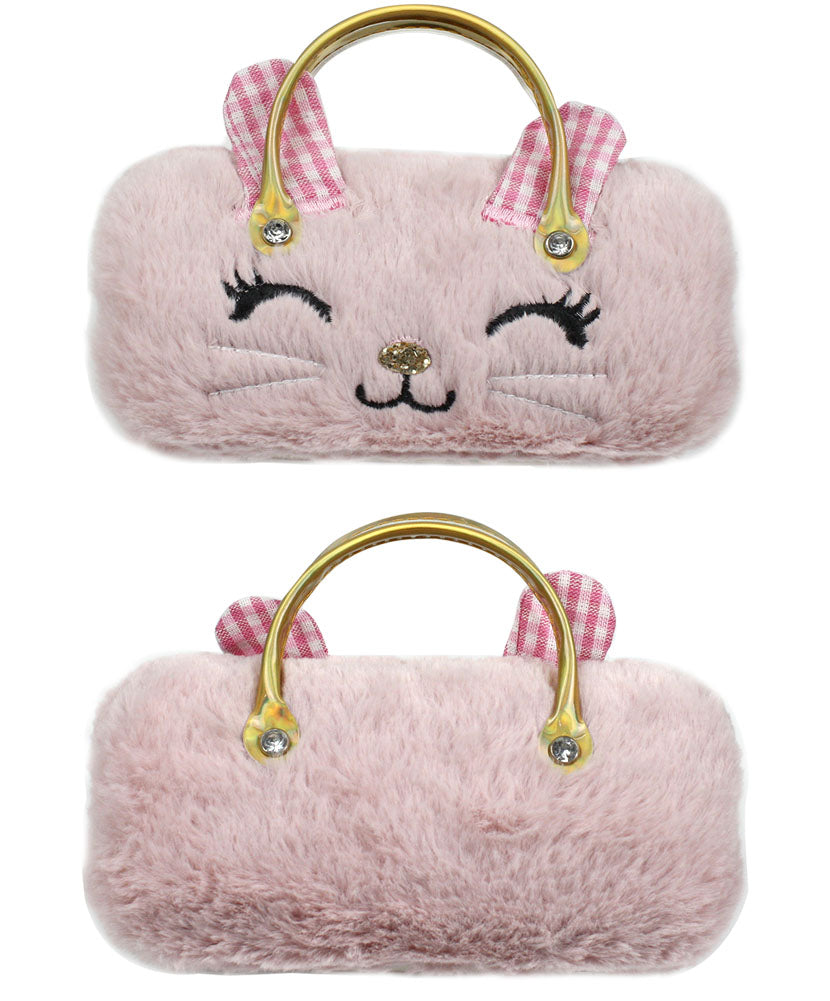Furry Pink With Handles