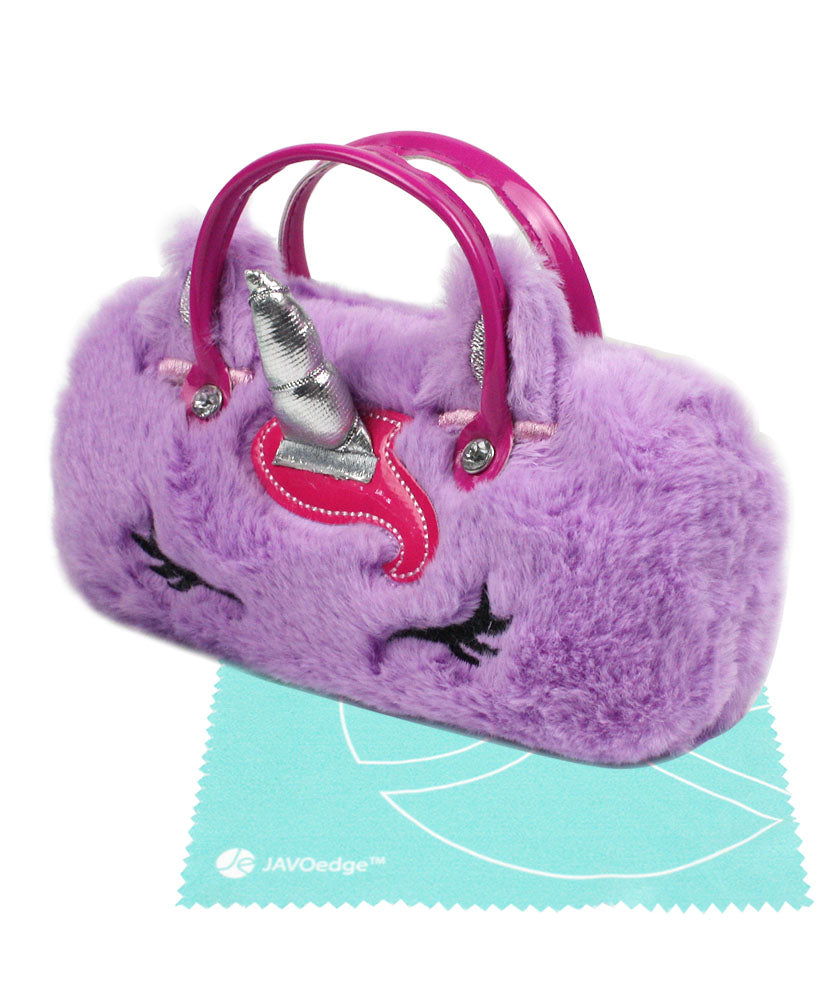 Furry Purple With Handles