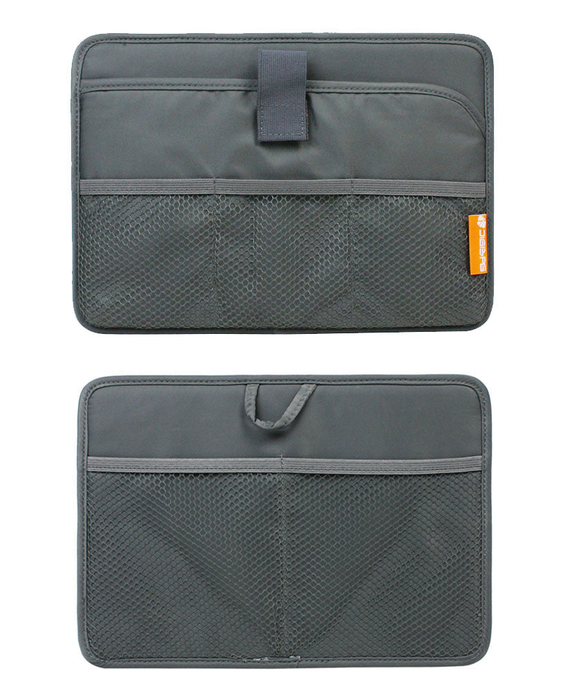 Sleeve Case Travel Organizer / Storage Bag for Tablets and eReaders (Grey)