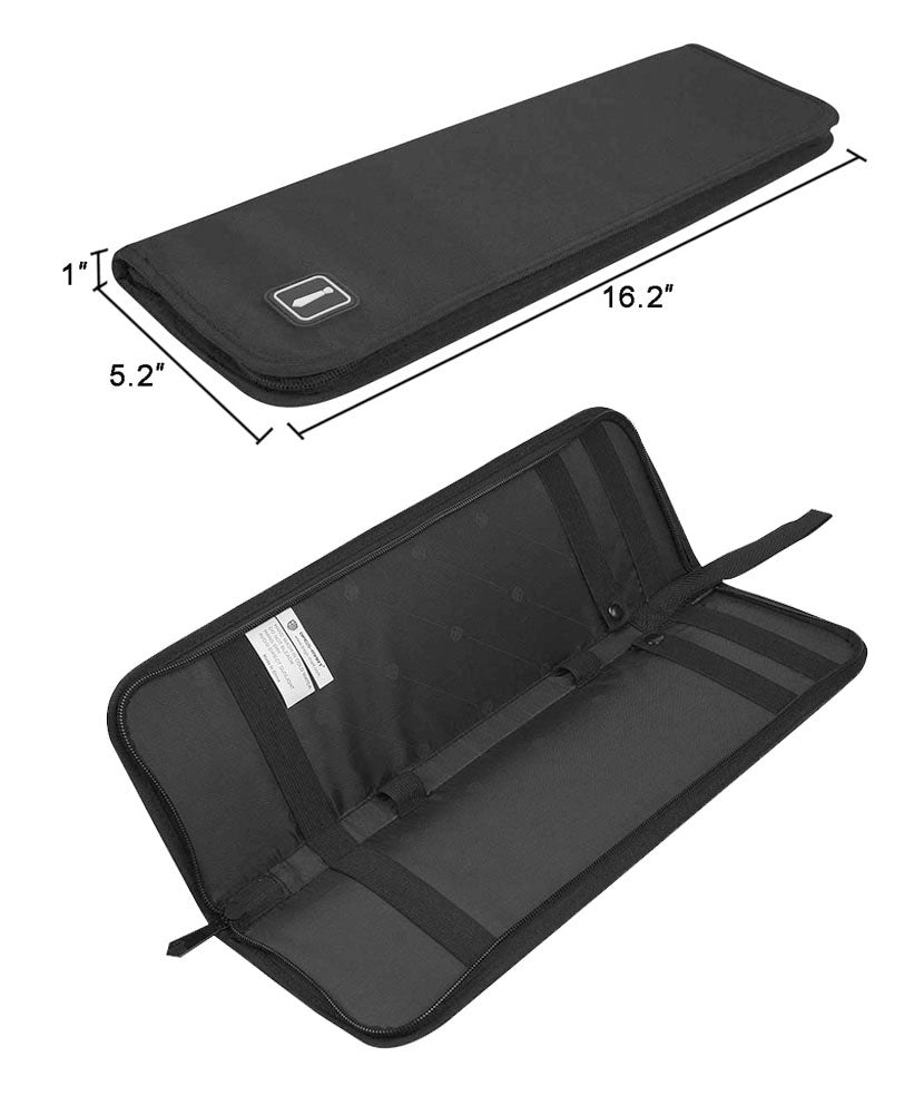 JAVOedge Two Tie Storage Zipper Case for Luggage, Work, Transport