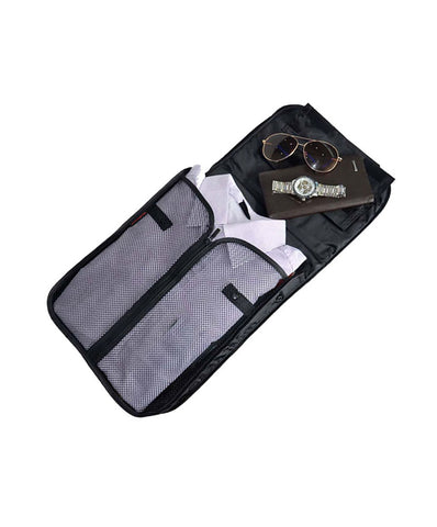 JAVOedge Blue Folding Shirt Packing Case for Vacation, Luggage, Work