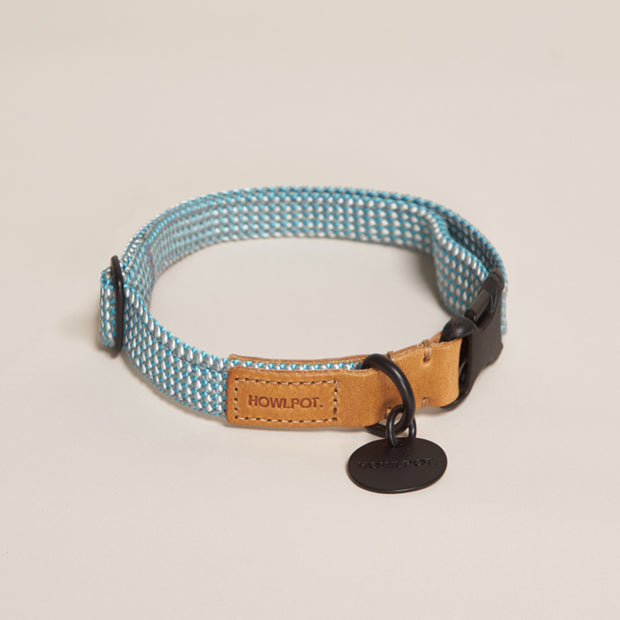 We are Tight Ribbon Collar | Deep Sea