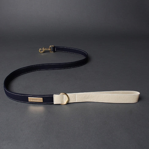 Neoprene Leash Navy