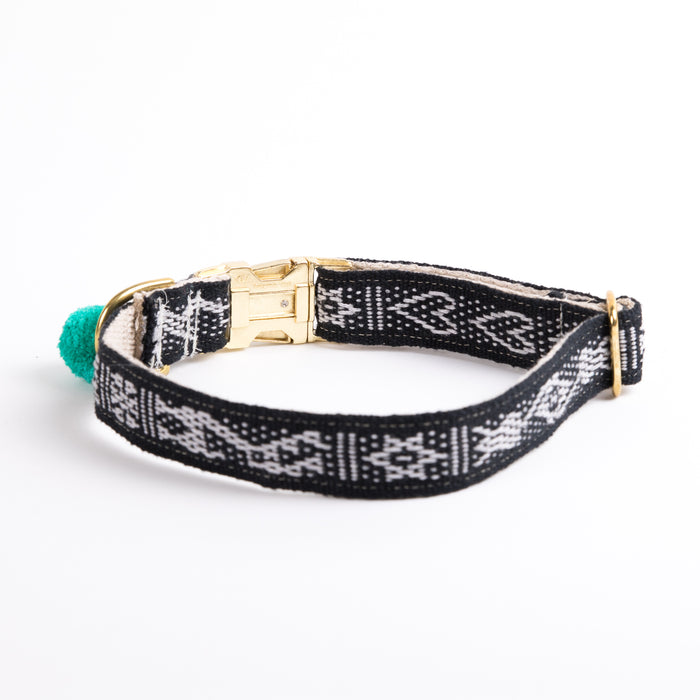 "Xolotl Loom Collar | 1"" Black"