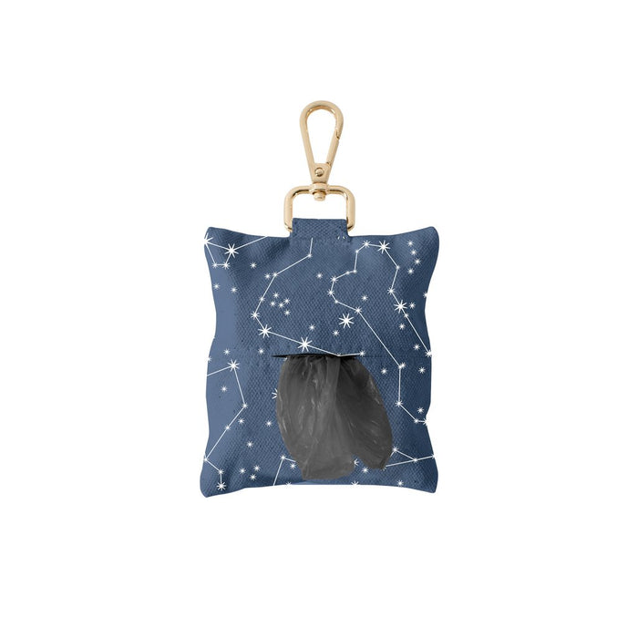 Fringe studio CELESTIAL CANVAS WASTE BAG DISPENSER