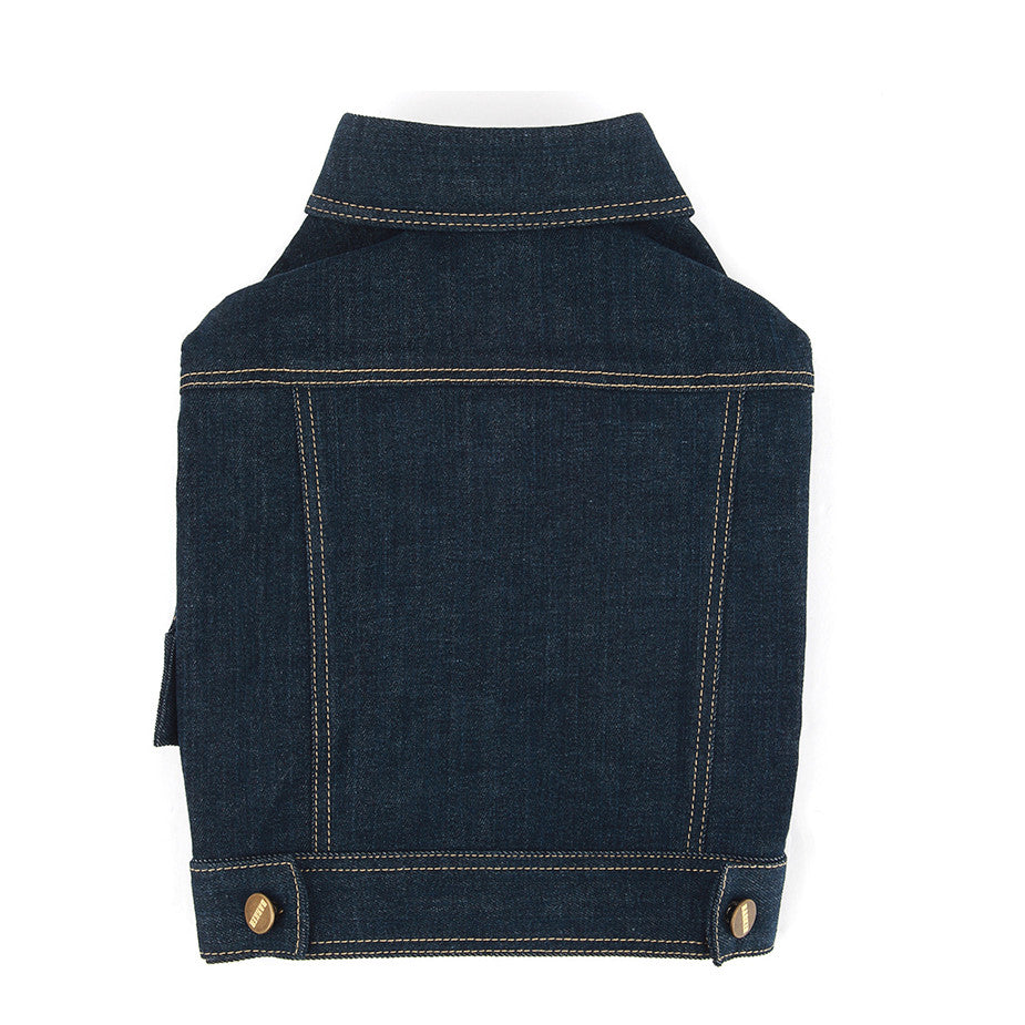 Super Stretch Denim Jacket Indigo