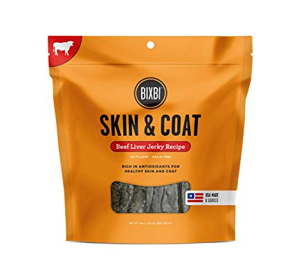 Bixbi SKIN AND COAT beef liver 12oz755709201752