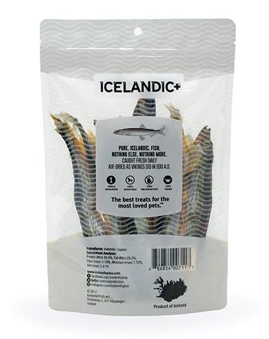 Capelin Whole Fish Dog Treats - 2.5oz bags
