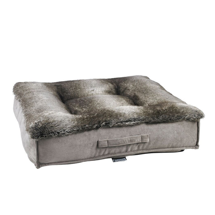 Deluxe Piazza Bed | Faux Fur