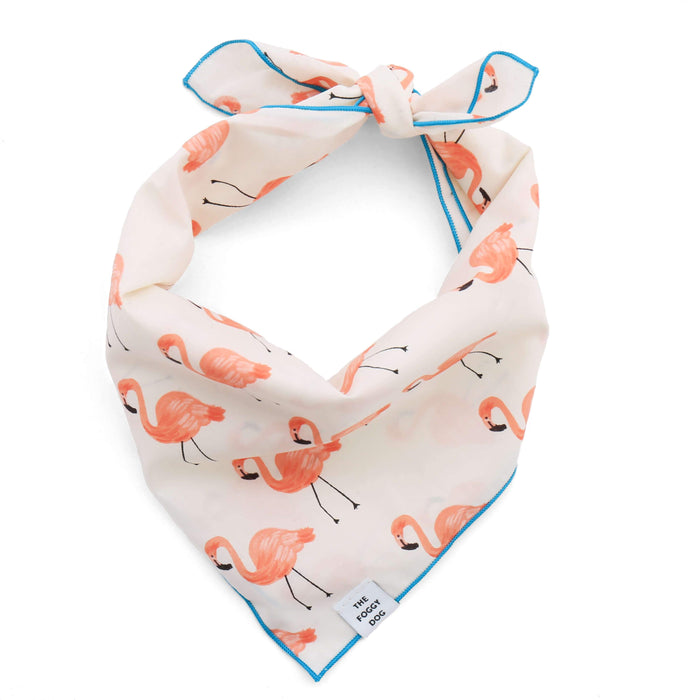 Foggy Dog Flamingo Bandana