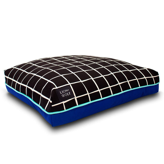 GRIDLOCK DOG BED – EBONY