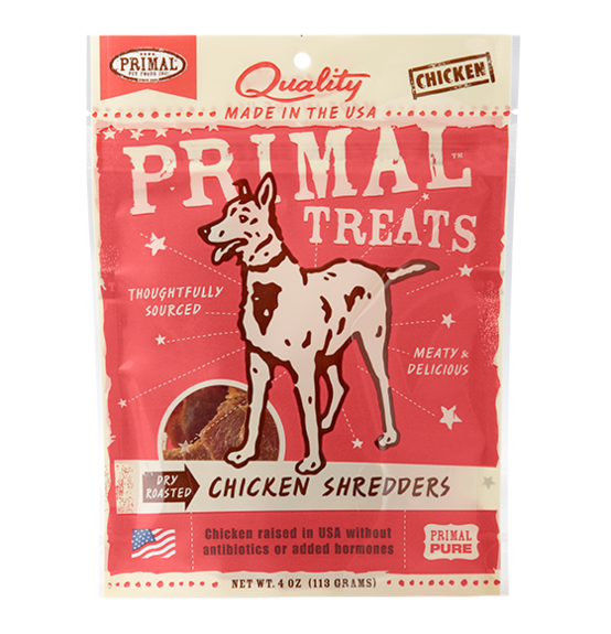 Primal Dog Chicken Shredders Treat
