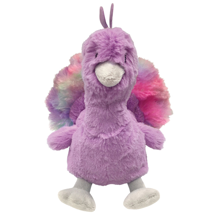 Pastel Pals Fuzzy Plush Toy | Peacock