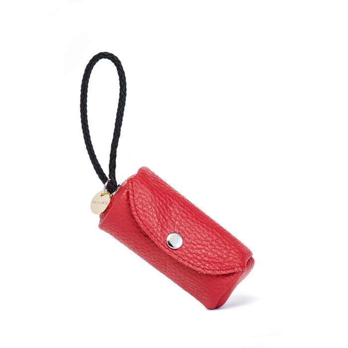Poop Bag Holder Red