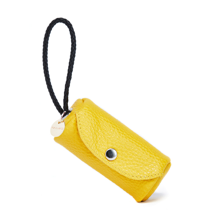 Poop Bag Holder Yellow