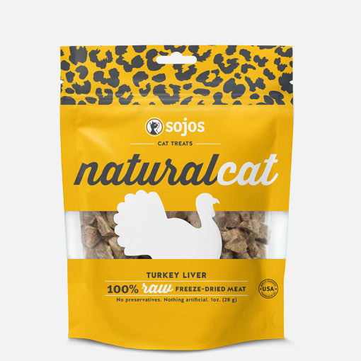 Natural Cat Turkey Liver Treats