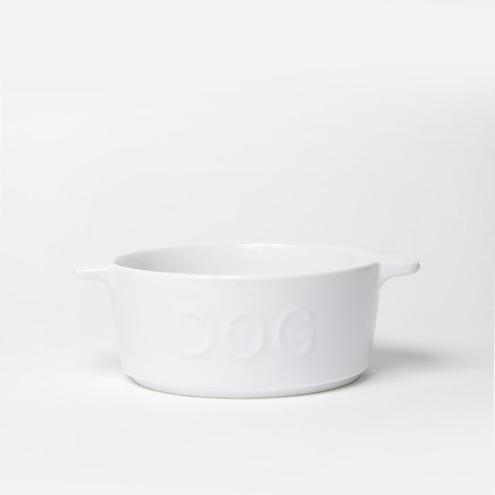 Too Hot Two Handle Dog Bowl Gray