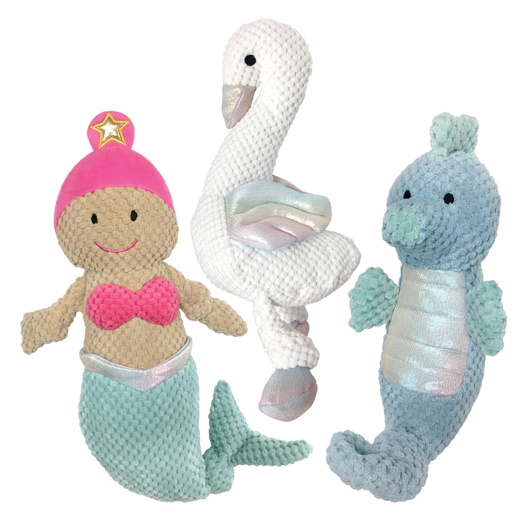 Under the Sea Knotted Toy | Large Seahorse