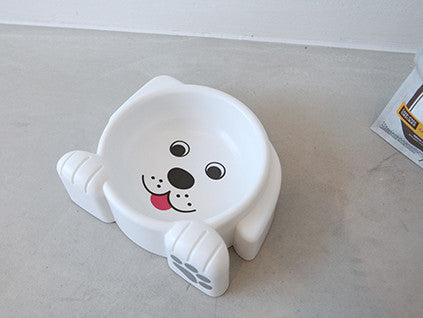 Dog Face Food Bowl