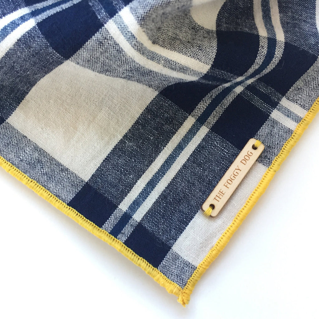 Regatta Plaid Dog Bandana