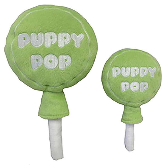 Lulubelles Power Plush Puppy Pop-LIME-S