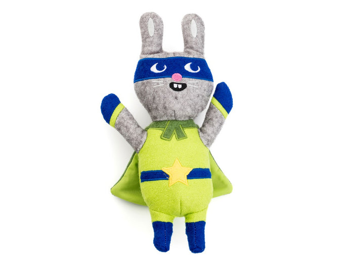 Jax and bone Jumping Jax Rabbit Wool Toy