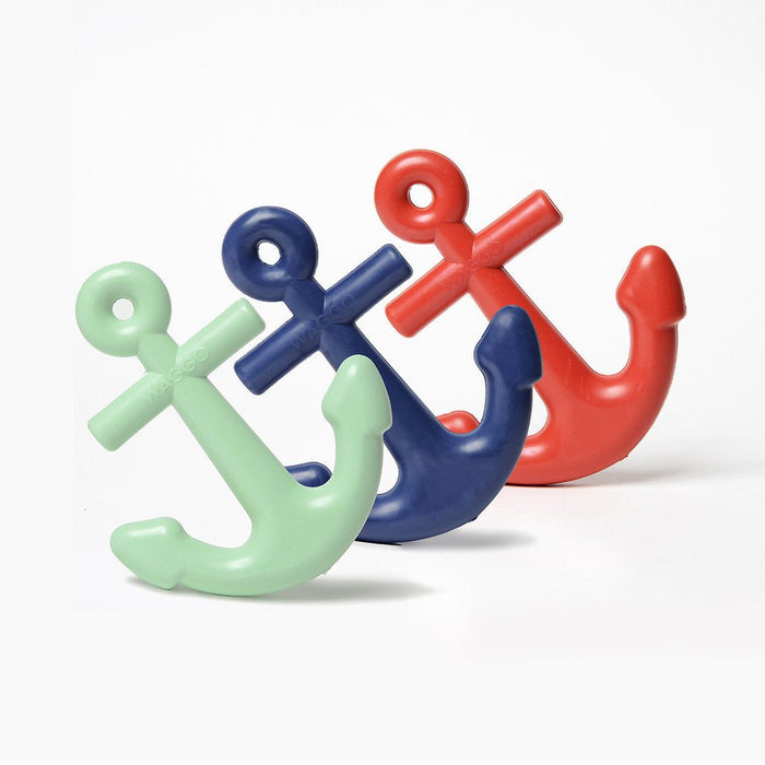 Anchors Aweigh Rubber Dog Toy