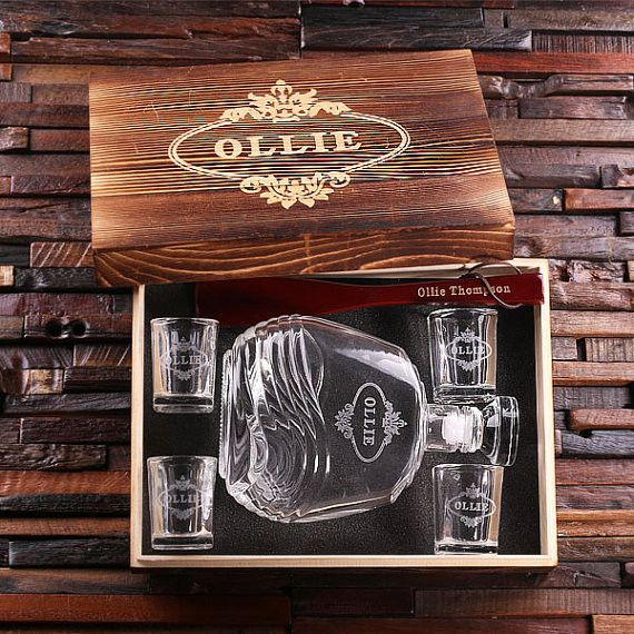 Personalized Whiskey Gifts