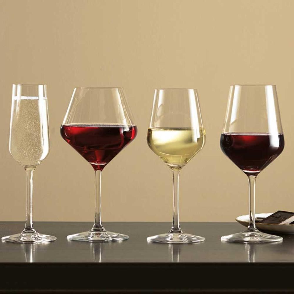 stolzle red wine glasses