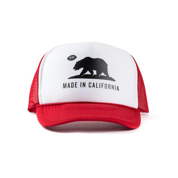 """Made in California"" Kids Trucker Hat"