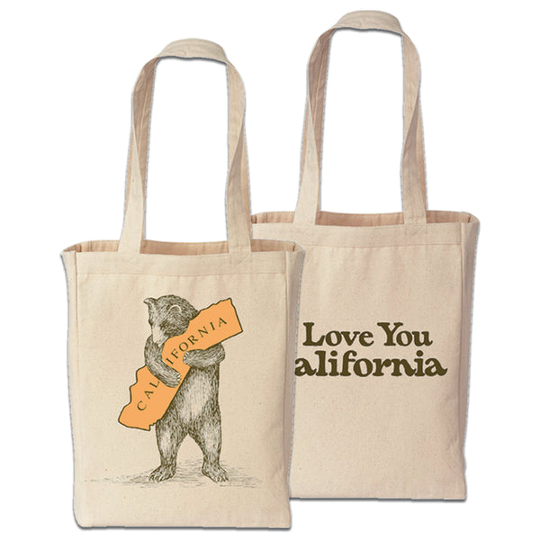 I Love You California Tote