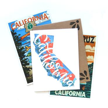 California Poppy Cards (6 Pack)