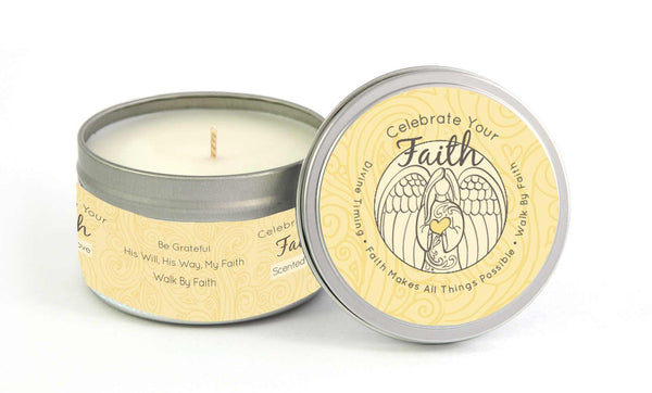 Faith Milestone Candle