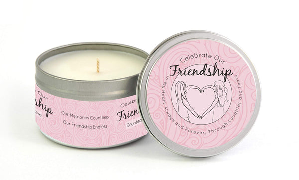 Friendship Milestone Candle