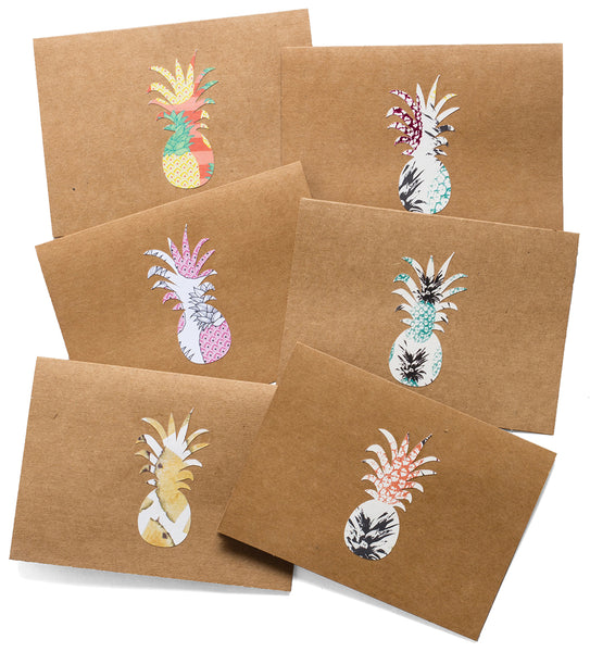 Pineapple Notecard Set - 10 Pack