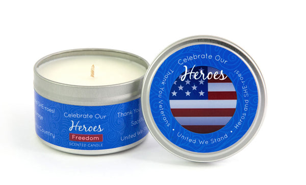 Celebrate Our Heros Milestone Candle